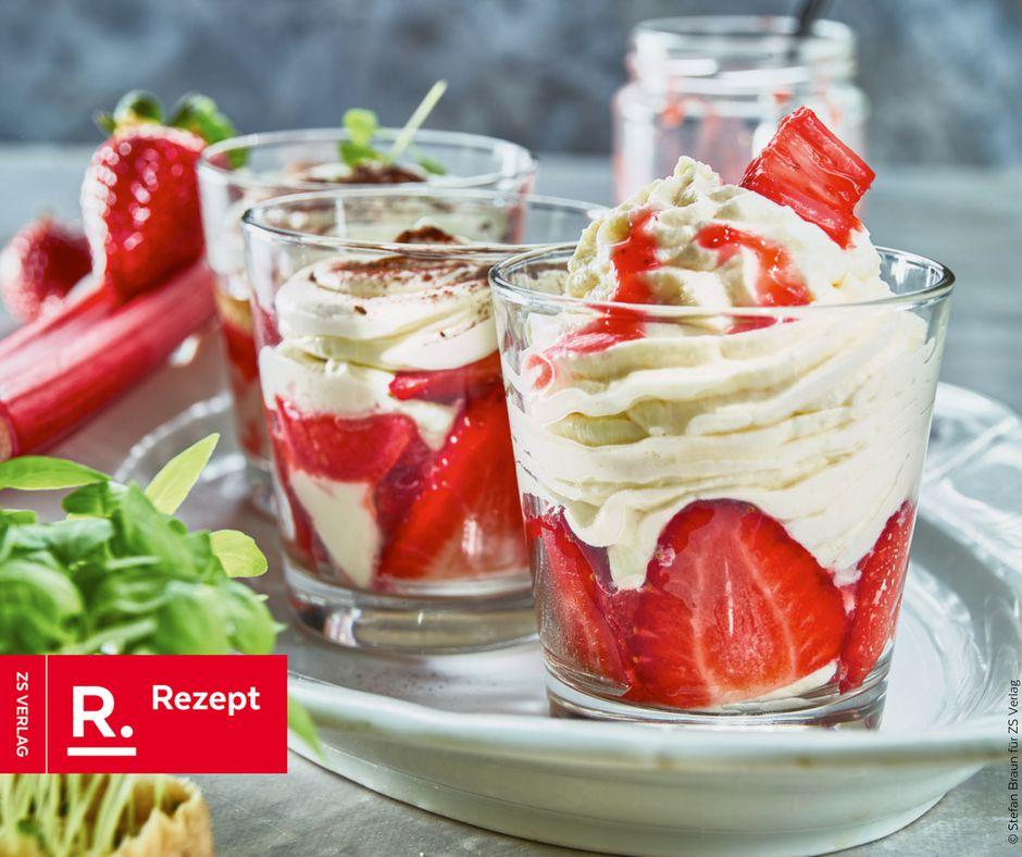 Erdbeer-Tiramisu - Rezept Bild