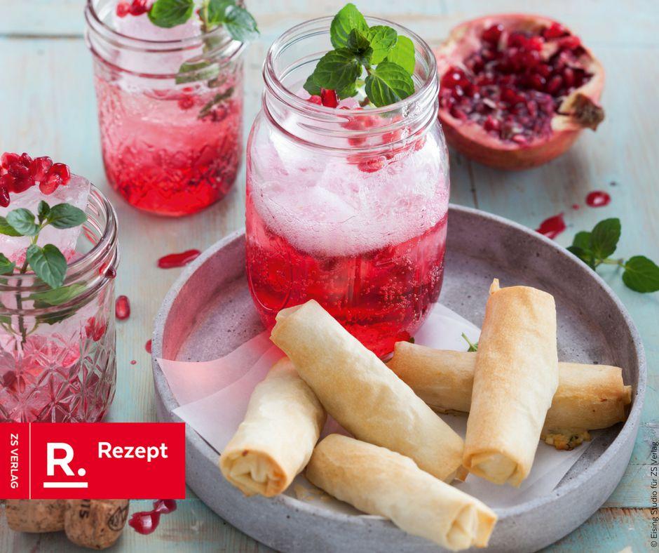 Granatapfel Sprizz - Rezept Bild