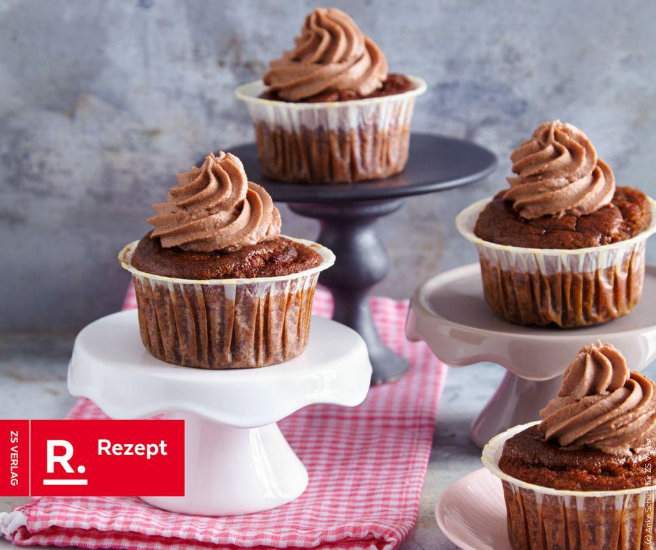 Salted Caramel Cupcakes - Rezept Bild