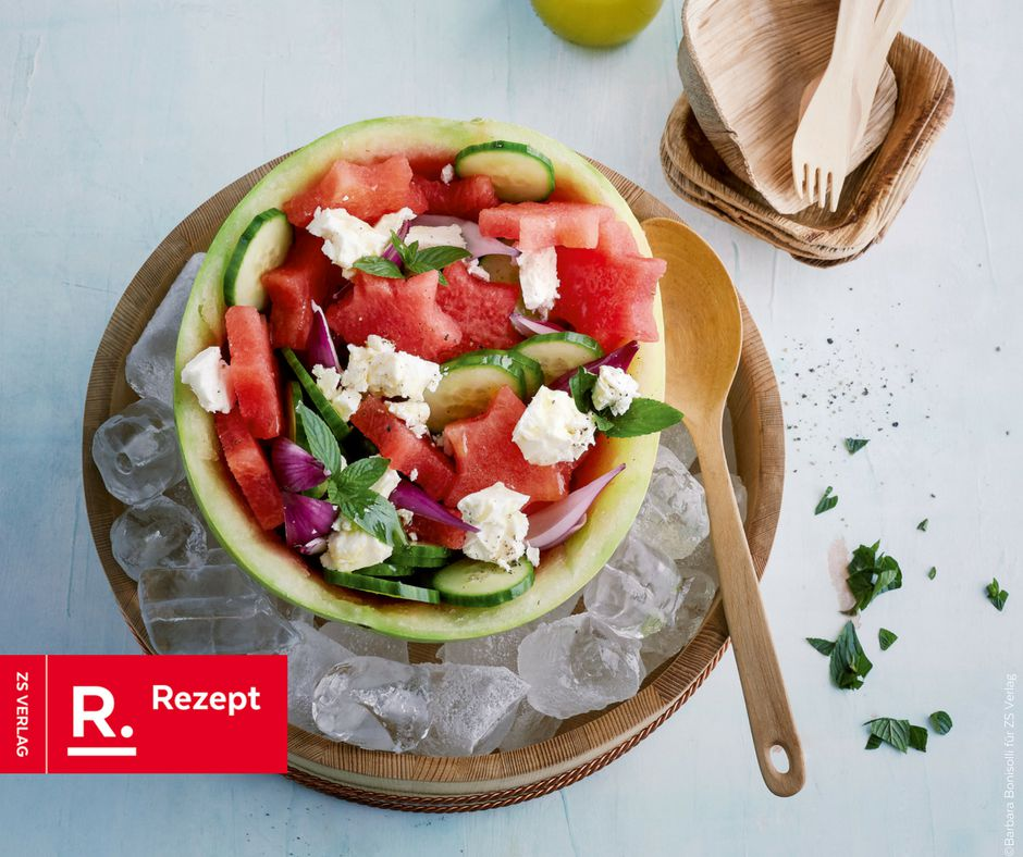 Bester Salat unter freiem Himmel - Rezept Bild