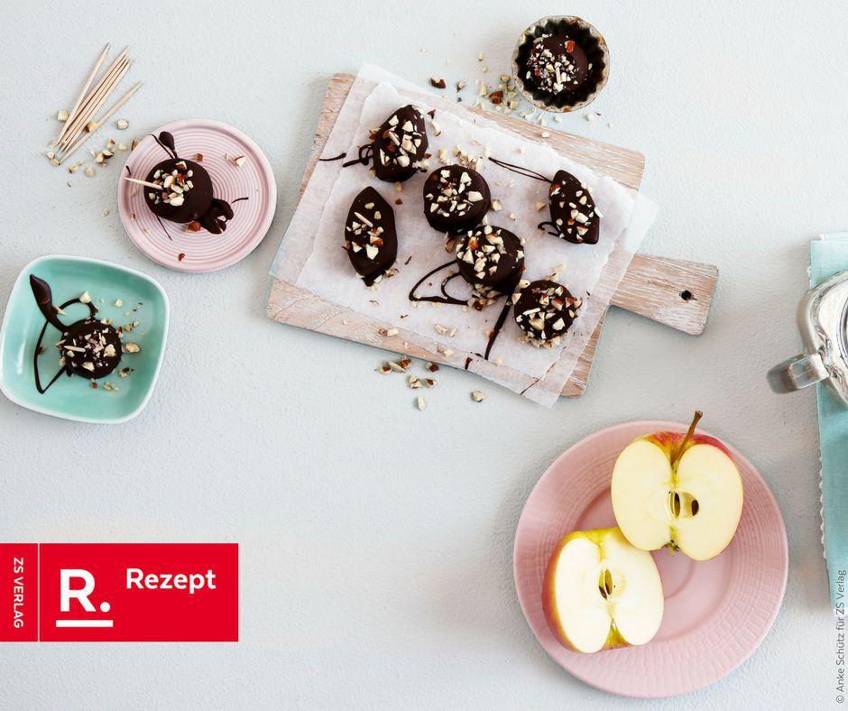 Schoko-Früchte - Rezept Bild