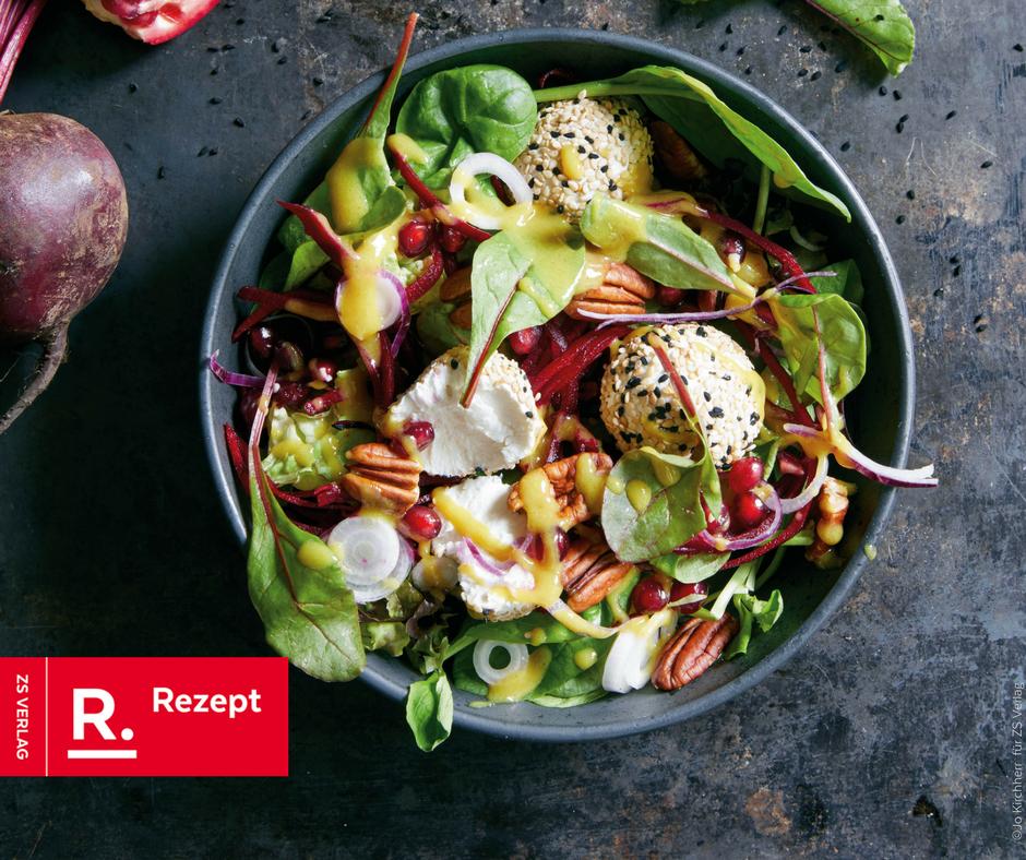 Rote-Bete-Salat mit Orient-Touch - Rezept Bild