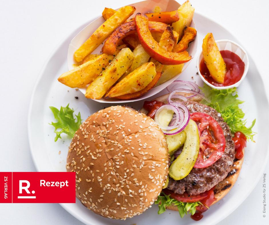 Deutschlank Burger Rezept von Achim Sam - Rezept Bild