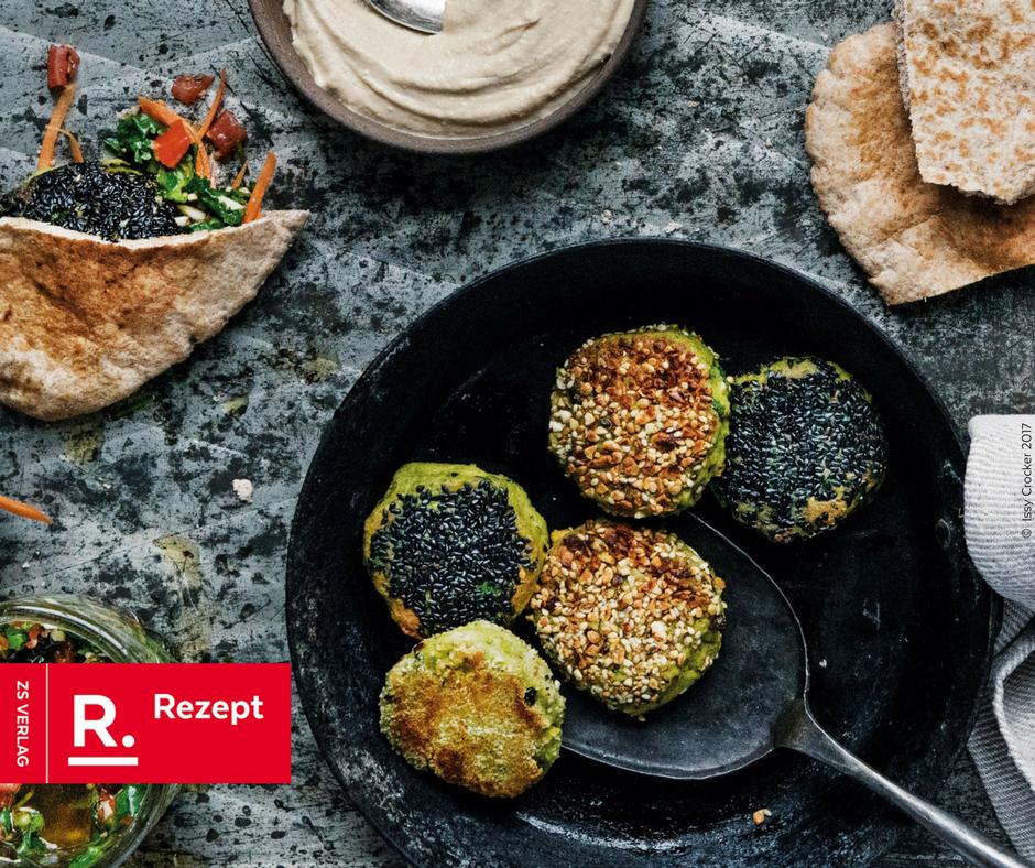 Falafel Rezept aus Midlife Kitchen von Mimi Spencer - Rezept Bild