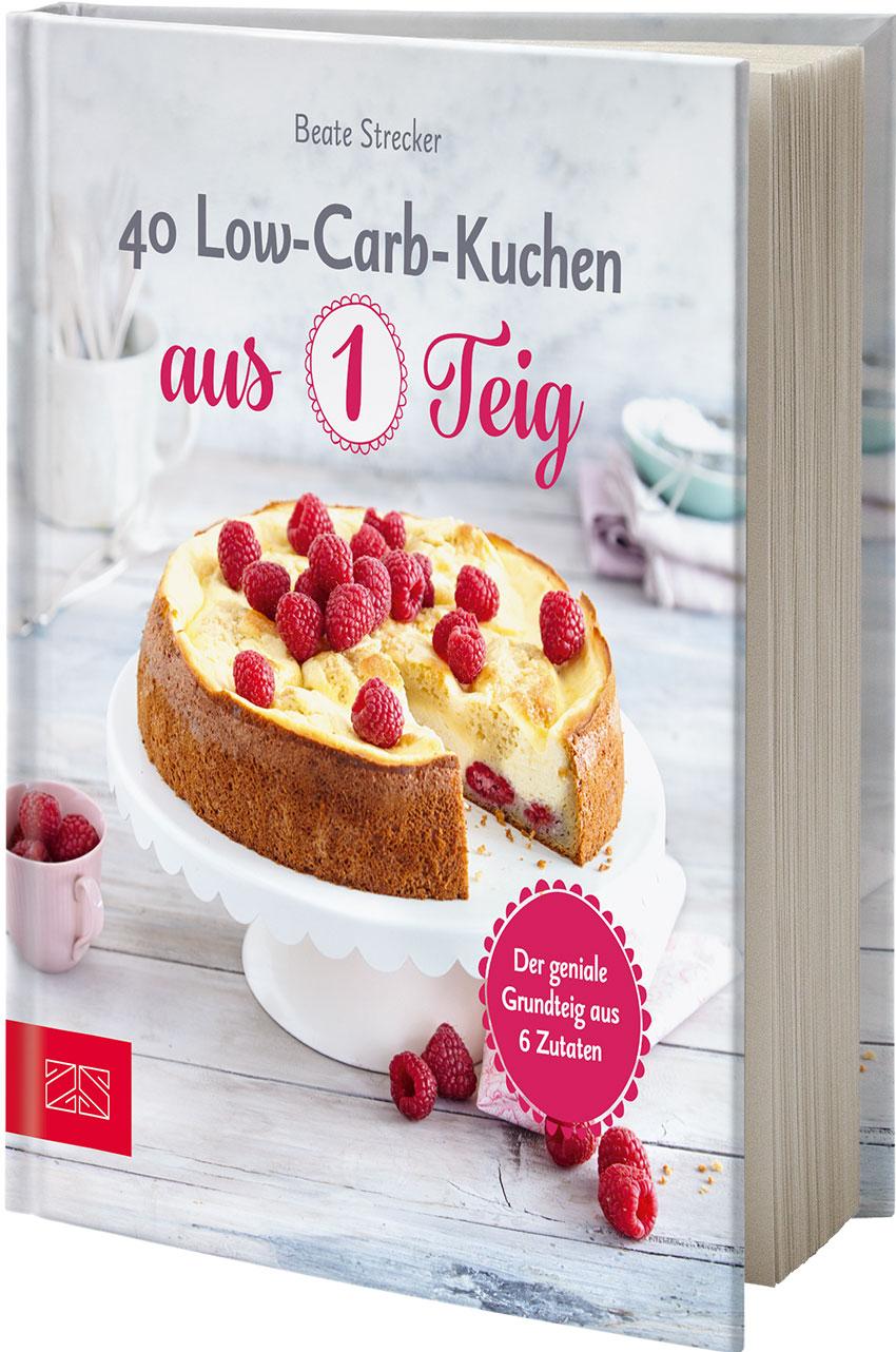 40 Low Carb Kuchen Aus 1 Teig Zs Verlag