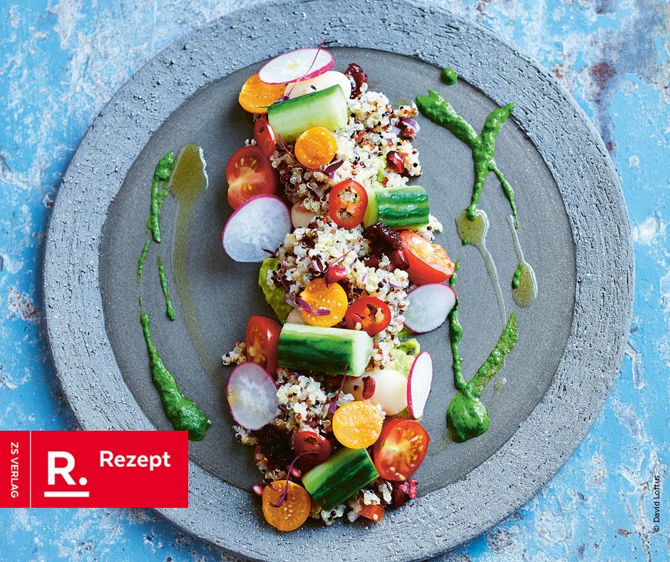 Quinoa-Avocado-Salat - Rezept Bild