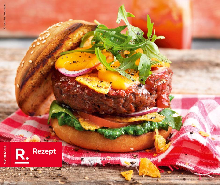 American Beef Burger - Rezept Bild