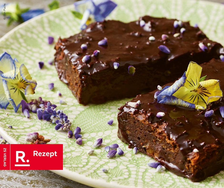 Süßkartoffel-Brownies - Rezept Bild