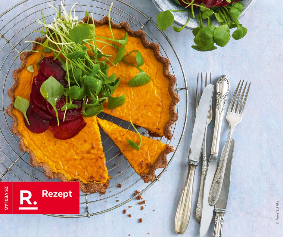 Herzhafter Pumpkin Pie - Rezept Bild