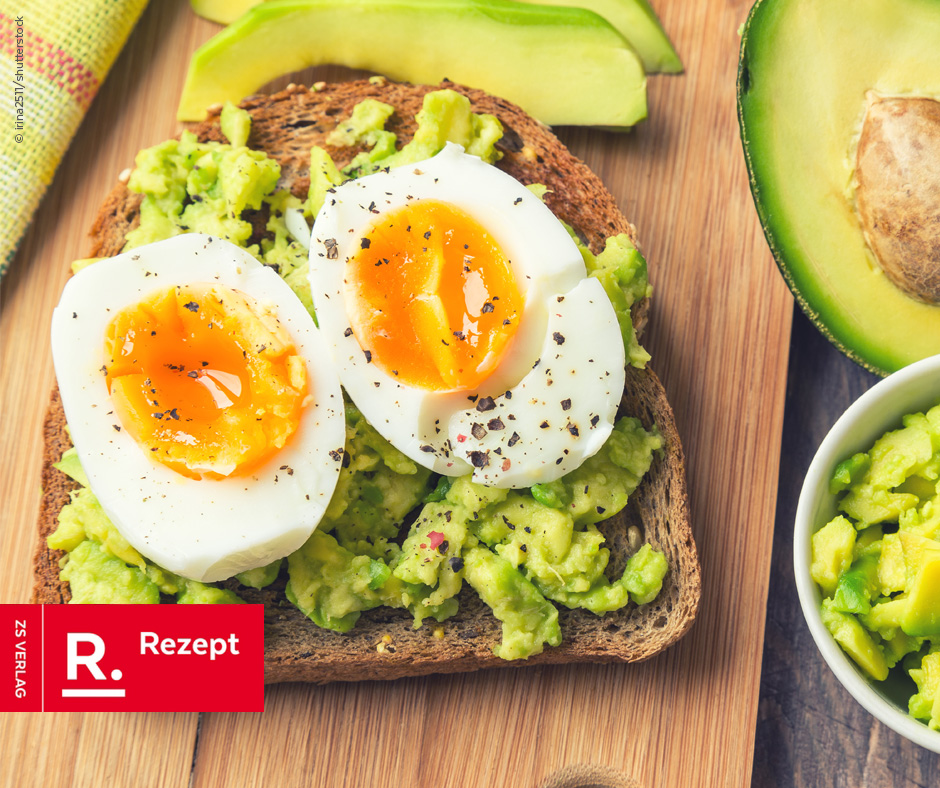 Sarahs Lieblingsrezept – Avocado-Toast mit Ei - Rezept Bild