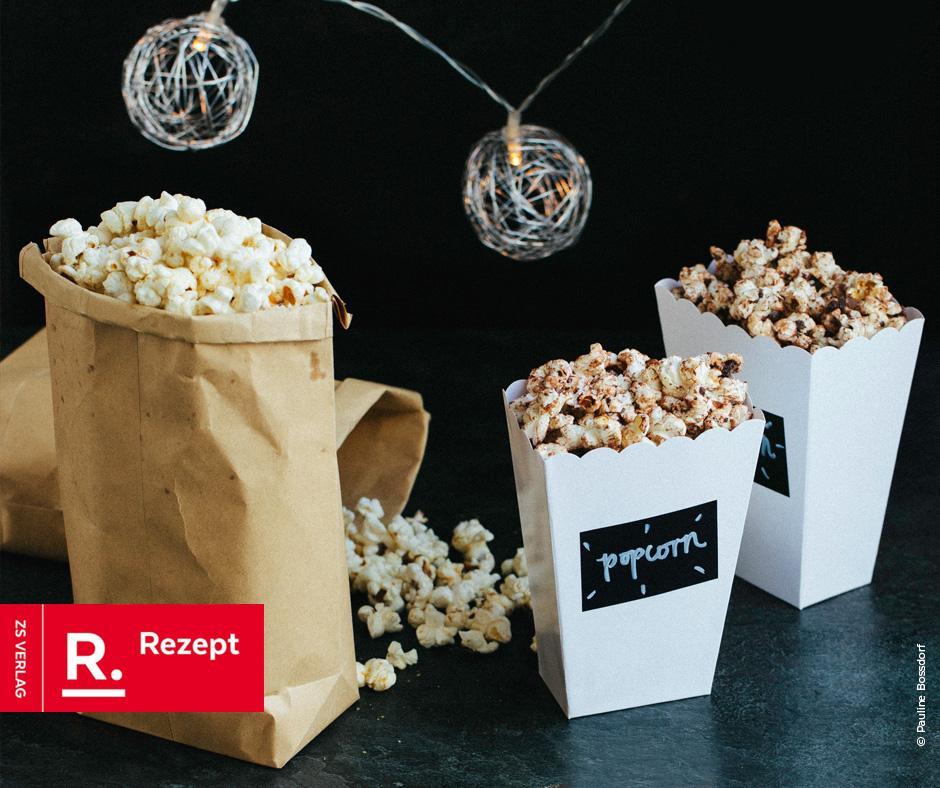 Selbstgemachtes Popcorn - Rezept Bild
