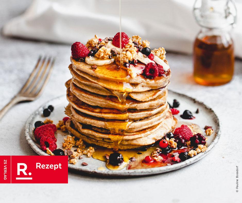 Bananen-Pancakes - Rezept Bild