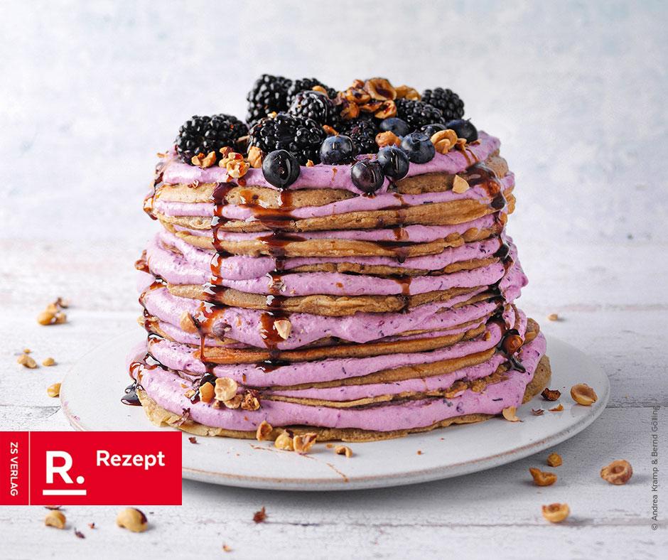 Rötschtorte mit Beerencreme - Rezept Bild