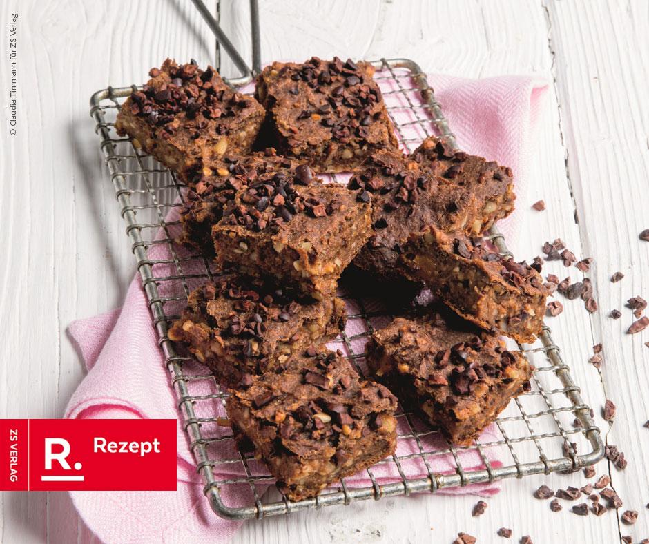 Süßkartoffel-Walnuss-Brownies - Rezept Bild