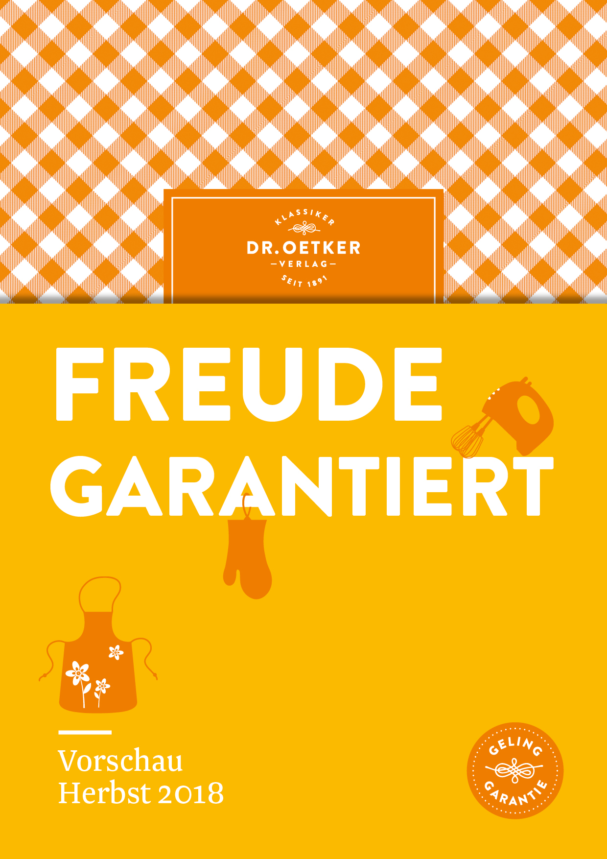 Dr. Oetker Verlag Herbst 2018