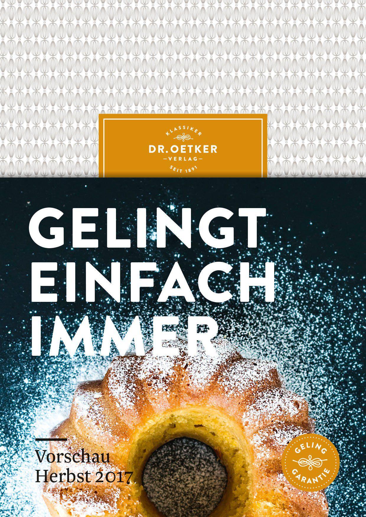 Dr. Oetker Verlag Herbst 2017