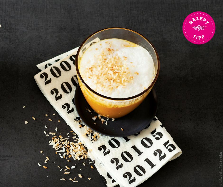 Kürbis-Kokos-Milch - Rezept Bild