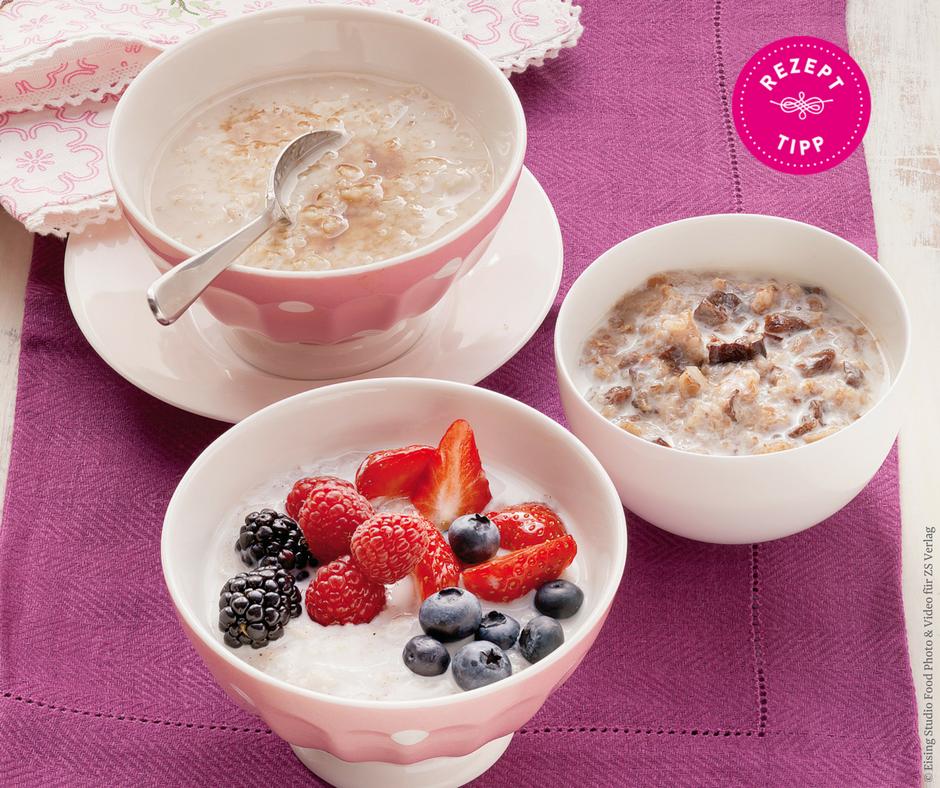 Porridge-Variation - Rezept Bild