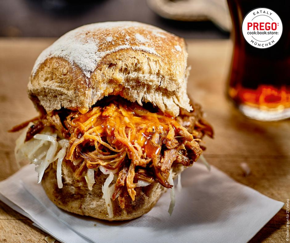 Pulled Pork Burger - Rezept Bild