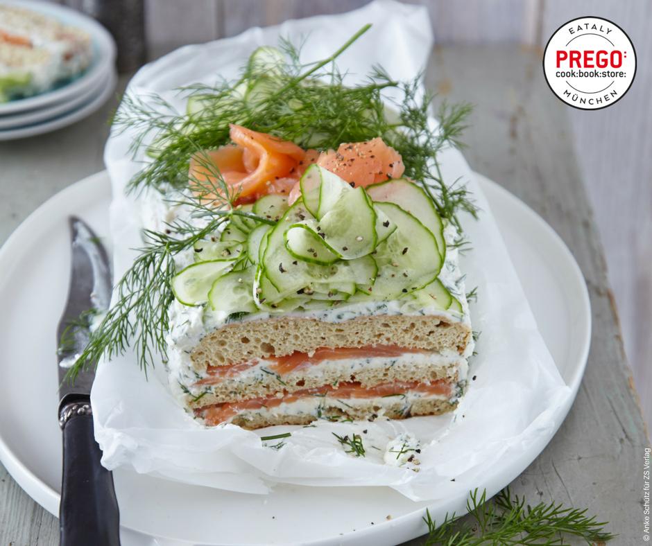 Smörgästärta - Schwedische Brottorte - Rezept Bild