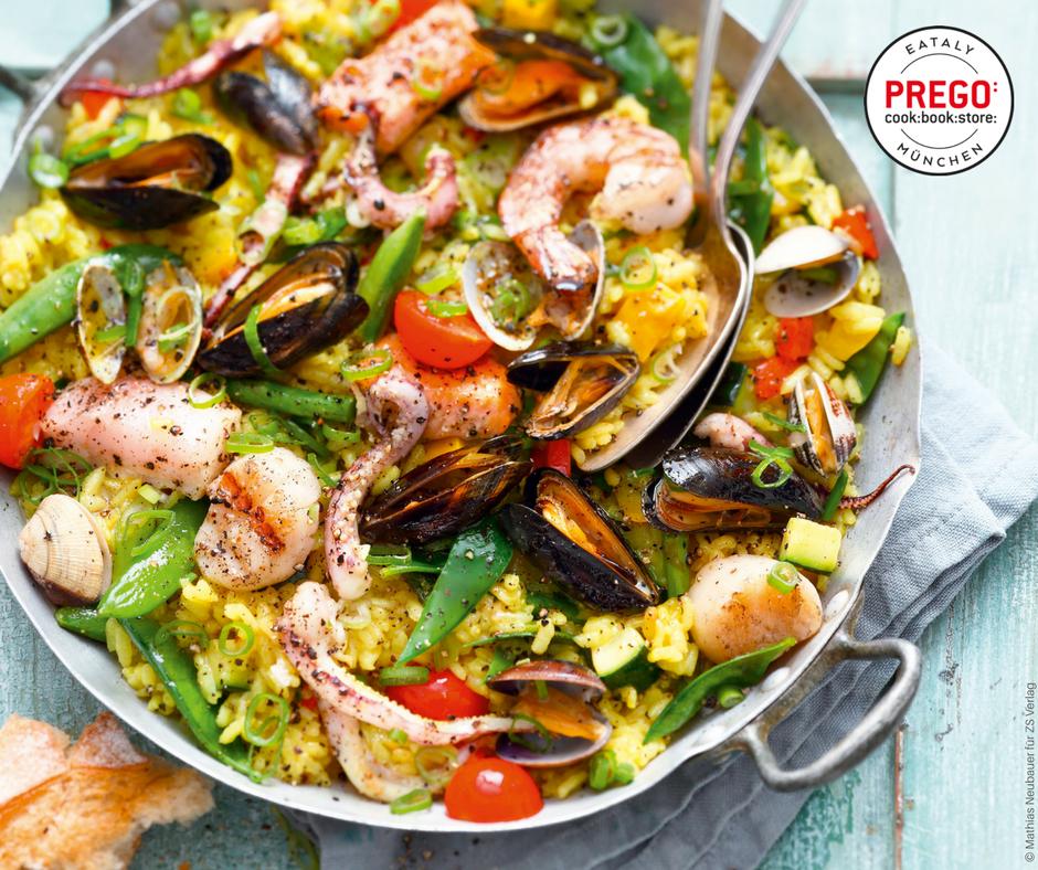 Meeresfrüchte-Paella - Rezept Bild